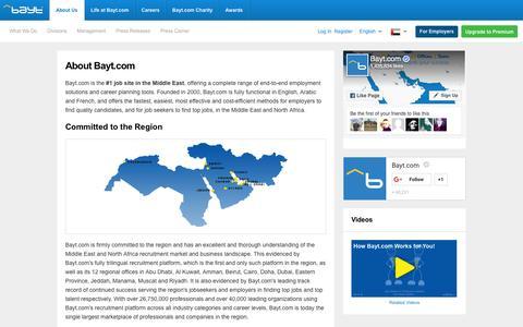 About Bayt.com - Bayt.com