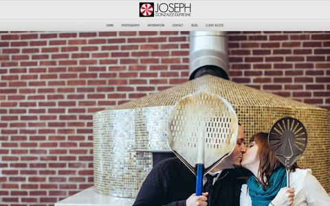 Screenshot of Home Page jgddesignphoto.com - Boston Wedding & Family Portrait Photographer | JGD Design & Photography | Joe Gonzalez-Dufresne - captured Oct. 6, 2014