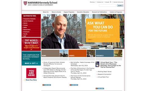 Harvard Kennedy School - Harvard Kennedy School