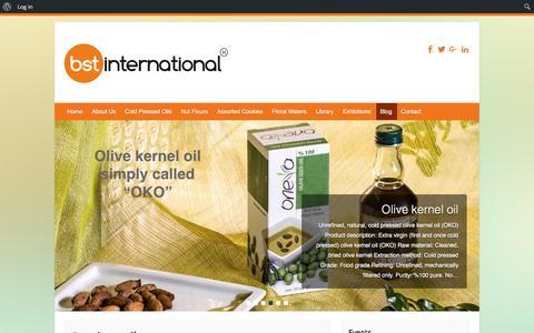 Screenshot of Blog bstinternational.com - Blog - Bst International - captured Dec. 28, 2015