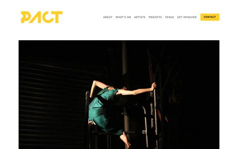Screenshot of About Page pact.net.au - PACT — PACT - captured Oct. 26, 2018