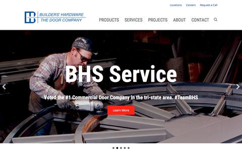Screenshot of Home Page builders-hardware.net - Builders' Hardware and Specialty Company - Builders' Hardware and Specialty Company - captured Oct. 11, 2017