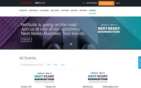NetSuite Events