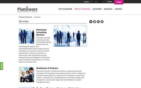 Services | Planisware
