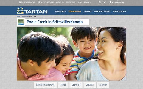 Poole Creek   Tartan Homes