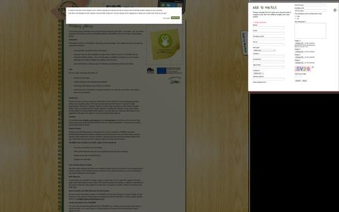 Screenshot of Privacy Page crumbs-southampton.co.uk - Crumbs Southampton Privacy Policy - captured Sept. 26, 2014