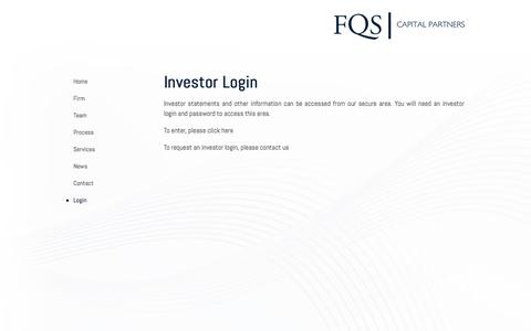 Finance Login Pages on Business Catalyst   Website