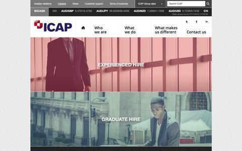 Careers � ICAP