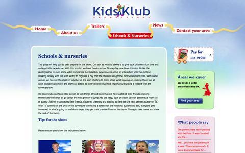 Screenshot of FAQ Page kids-klub.co.uk - Kids - captured Nov. 27, 2016