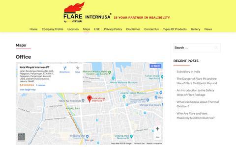 Screenshot of Maps & Directions Page kotaminyak.com - Maps – Kotaminyak - captured Sept. 20, 2018