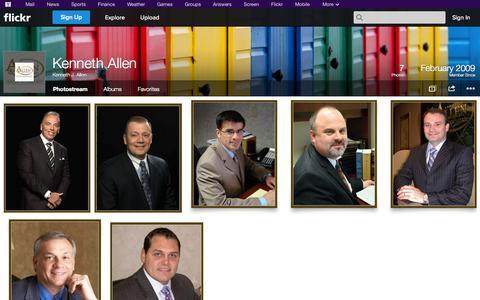 Screenshot of Flickr Page flickr.com - Flickr: Kenneth J. Allen's Photostream - captured Oct. 23, 2014