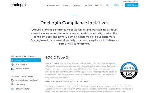 Compliance - OneLogin