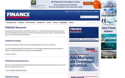 Research-FINANCE Magazin