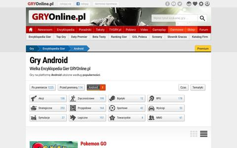 Gry Android | GRYOnline.pl