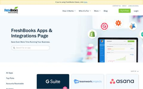 Project Management Integrations for New FreshBooks  | FreshBooks