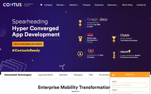 Mobile Application Development Company | Hire App Developer