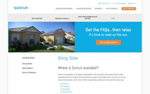 Energy FAQ Pages on Drupal | Website Inspiration and Examples | Crayon