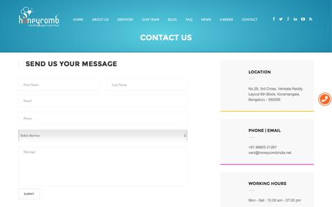 Honeycomb Creative support - Contact Us