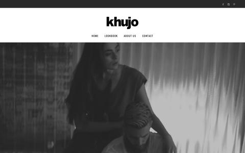 Screenshot of Home Page khujo.com - Home - khujo | Official since 2001 - captured Oct. 16, 2016
