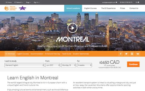 Learn English abroad  in Montreal - ESL Montreal English Schools