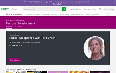 Online Personal Development Courses | Udemy