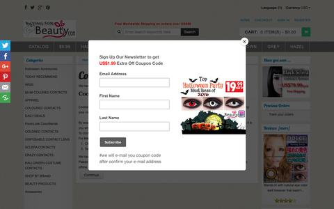 Screenshot of Login Page buying-beauty.com - Cookie Usage : Cheap Colored Contacts,Halloween Contacts & Coloured Contacts, Dress,Lingerie,Colored Contacts,Coloured Contacts,Halloween Contacts,Costume,Wigs,Cosplay - captured Oct. 24, 2018