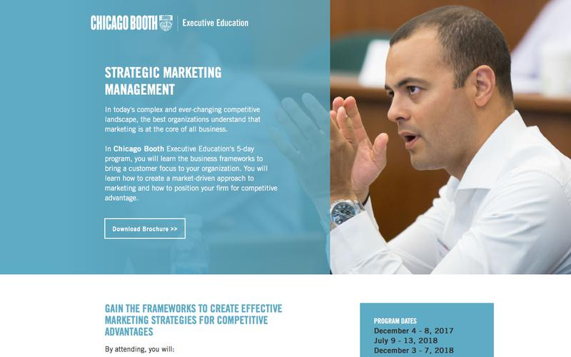 Executive Education at Chicago Booth | Strategic Marketing Management