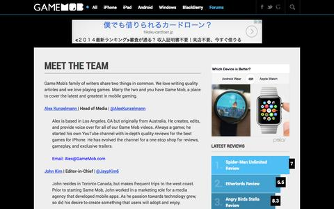Media Team Pages | Website Inspiration and Examples | Crayon