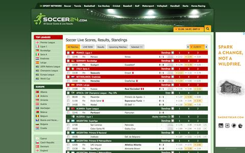 Soccer 24 live soccer results online football results