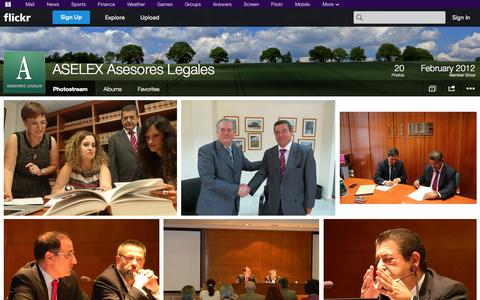 Screenshot of Flickr Page flickr.com - Flickr: ASELEX Asesores Legales' Photostream - captured Oct. 23, 2014