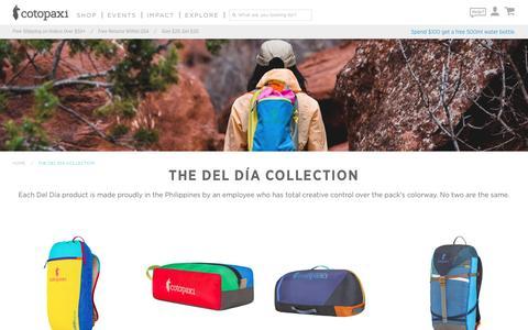 The Del Día Collection – Cotopaxi