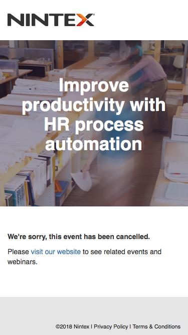 Improve productivity with HR process automation