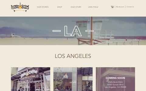 Find your Store in LA | Philz Coffee