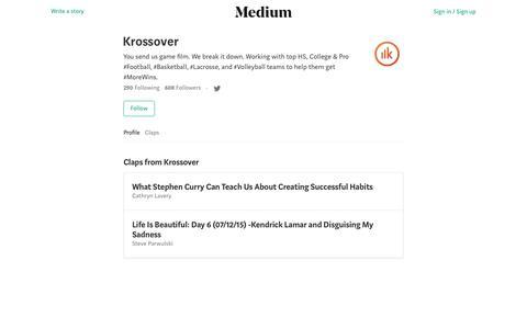Krossover – Medium