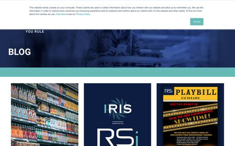 Screenshot of Blog retailsolutions.com - Blog Archives - RSi - captured Nov. 16, 2018