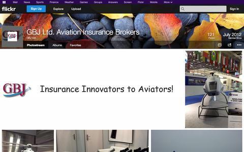 Screenshot of Flickr Page flickr.com - Flickr: GBJ Ltd.'s Photostream - captured Oct. 23, 2014