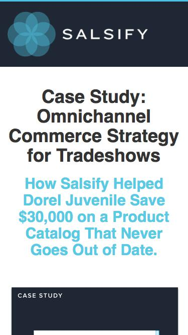 Case Study - Omnichannel Commerce Strategy for Tradeshows