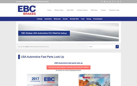 USA Automotive Fast Parts Look Up