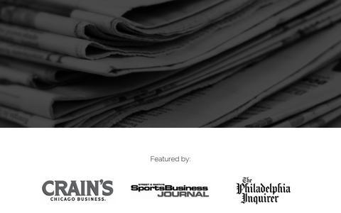 Screenshot of Press Page parametric.io - News — Parametric - captured July 19, 2014