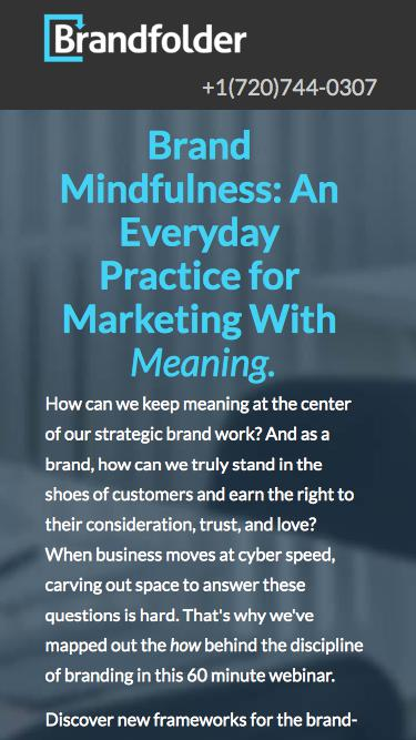 [Webinar] Brand Mindfulness: An Everyday Practice for Marketing With  Meaning.