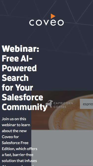 Free AI-Powered Search for Your Salesforce Community