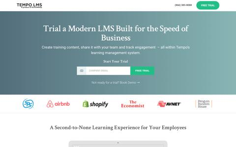 Screenshot of Trial Page schoolkeep.com - Trial SchoolKeep's LMS Today - captured June 20, 2017