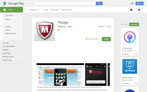 Pledge - Apps on Google Play