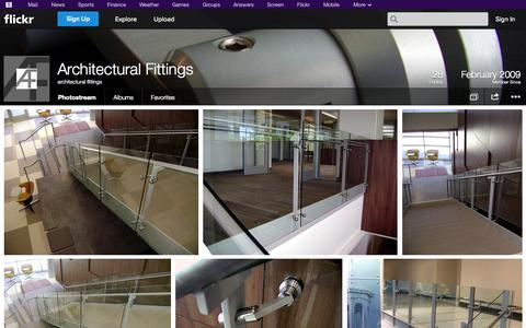 Screenshot of Flickr Page flickr.com - Flickr: architectural fittings' Photostream - captured Oct. 23, 2014