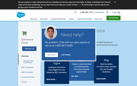 Screenshot of salesforce.com - Online Customer Community Software - Salesforce.com - captured Nov. 17, 2018