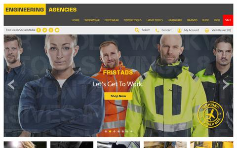 Screenshot of Home Page engineeringagencies.co.uk - Engineering Agencies Ltd - captured Sept. 28, 2018