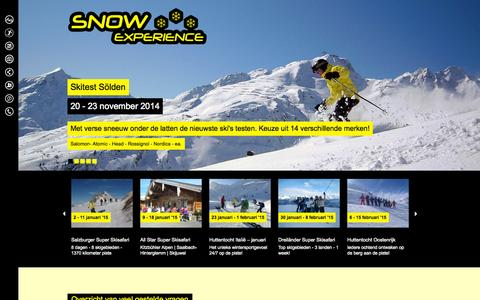 Screenshot of FAQ Page snowexperience.nl - Vraag en antwoord : Snow Experience - captured Oct. 26, 2014