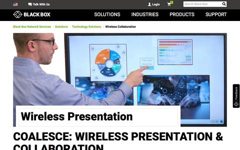 Coalesce- Wireless Display, Collaboration & Presentation System I Black Box