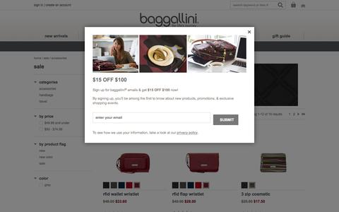 Accessories on Sale at baggallini - Free Shipping over $100