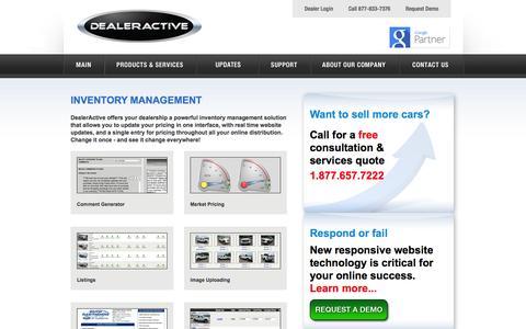 Screenshot of Team Page dealeractive.com - Car Dealer Website | Car Inventory Management - captured Sept. 30, 2014